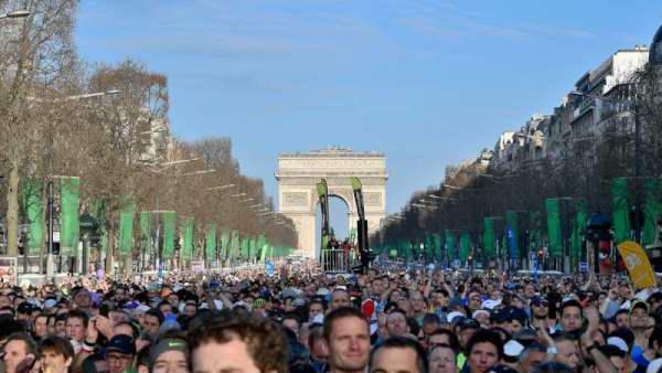 40EME SCHNEIDER MARATHON DE PARIS