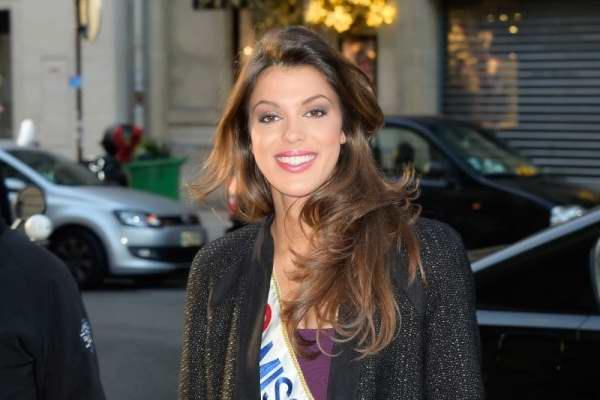 Miss France 2016 effectue son parcours mediatique le 21 decembre 2015 - Paris