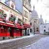 Montmartre sous la neige